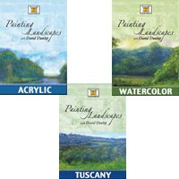 Painting Landscapes with David Dunlop – 3 DVDs (Oil, Watercolor and Tuscany) (Reg. Price $99.95; 20% Off Holiday Sale Price $79.96) (Copy)