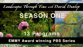 PBS Create will air Landscapes Through Time beginning April 15