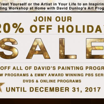 20% Off Holiday Sale on All David Dunlop DVDs – Now Online as Well!
