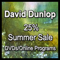 25% Off Summer Sale for All of David's DVDs and Online Programs