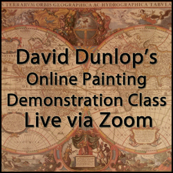 David Dunlop's May Saturday Series of  Four Live Studio Demonstration Classes – 11am EST