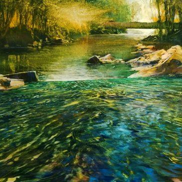 Descending Perspective, Falling River