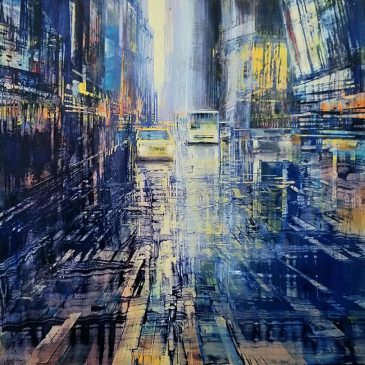 Choreographing the City with Abstract Energy